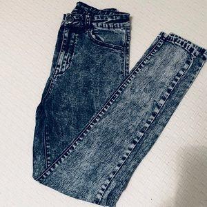 Acid wash jeans!